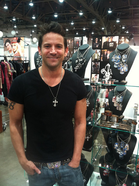 Jeff Timmons - 98 Degrees - Magic Trade Show - Las Vegas - 2013