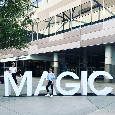 "Summer WWDMAGIC - Celebrity Visits - Abe Cruz ""Millionaire Match Maker"" - ""Thunder Down Under"" Vegas Show Crew - Las Vegas 2018"