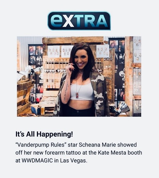 Winter WWDMAGIC - Celebrity Visits - Reality Star - Scheana Marie - Vanderpump Rules - AND - Teen Vogue It Girl - Grace Wethor - Las Vegas 2018