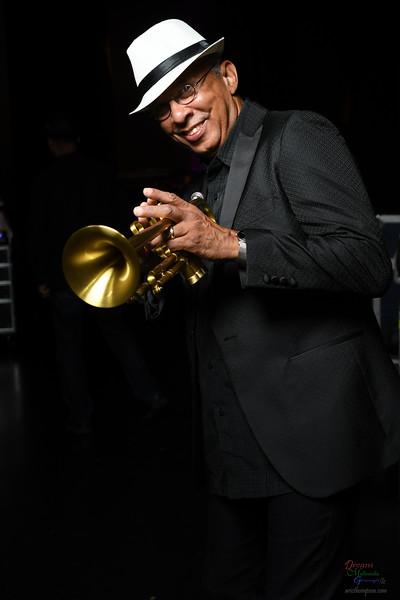 Trumpeter Tom Brown