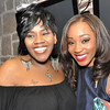 Singers Kelli Price and Dondria