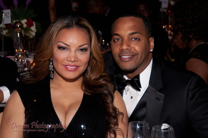 V103's Egypt Sherrod and her husband Michael At the Mayor's Ball 2012