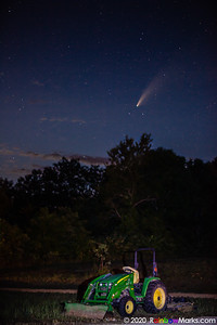 Neowise Comet from Echo Bluff State Park