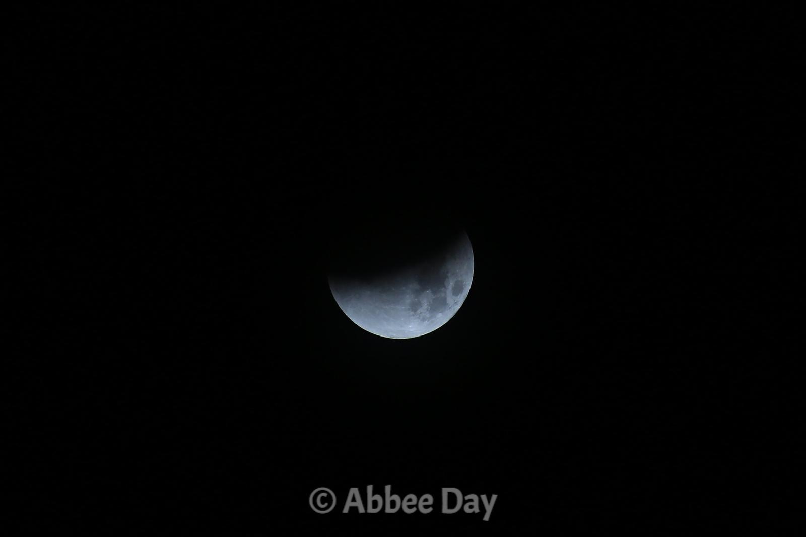 Eclipsing Moon
