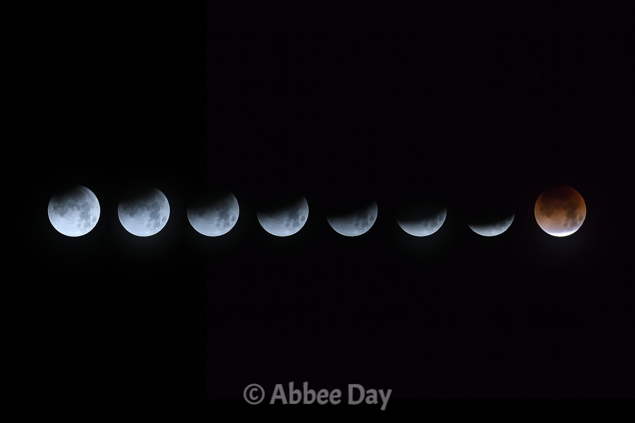 Stages of the Lunar Eclipse