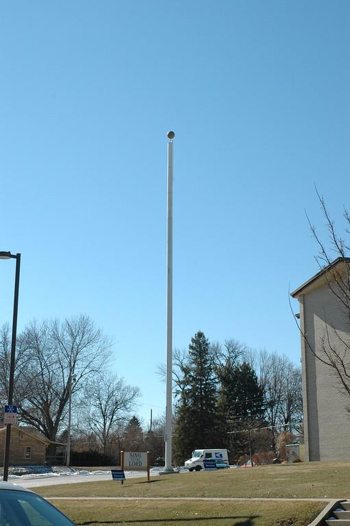 49' flag pole