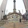 Soldiers and Sailors Monument in Downtown Cleveland