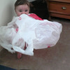 Emma is playing in Nannys room<br /> plastic bag and sitting on the A.C vent