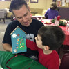 Nate's pre-school Christmas for his family