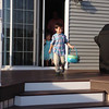 Kids backyard egg hunt