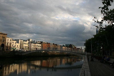 """Ha'penny Bridge - """"Half penny"""" was the toll in 1816 to cross the river."""