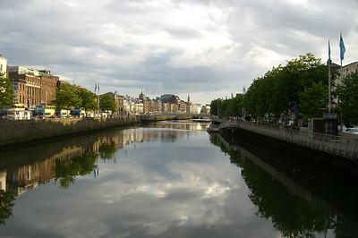 The River Liffey.