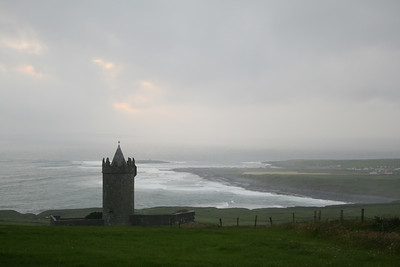 Doonagore Castle near Doolin.