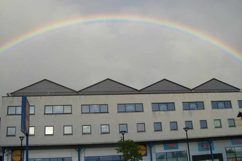 Rainbow over Galway