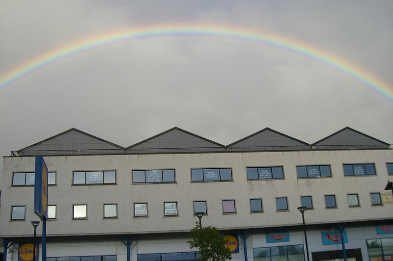 Rainbow over Galway