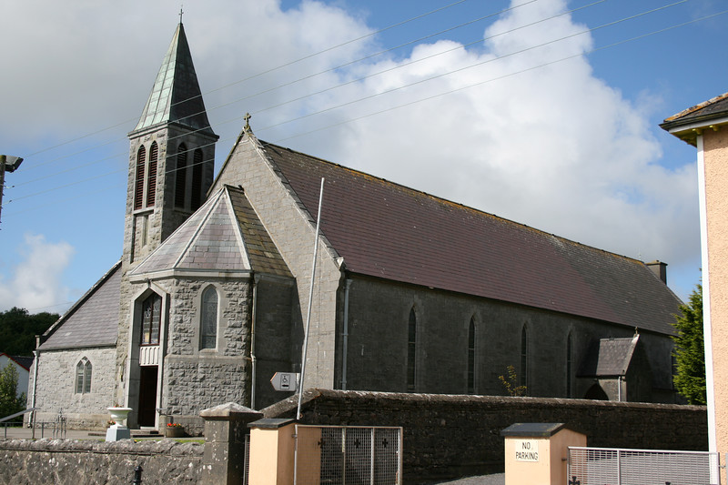 The Catholic church in Lisdoonvarna