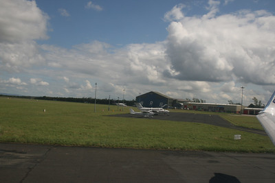Leaving Shannon Airport.