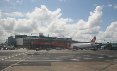 Shannon airport.  Nice and small.