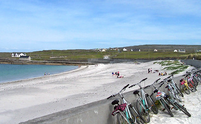 Beach on the Aran Islands