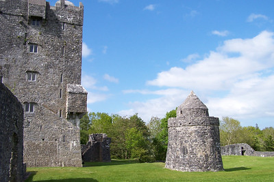 Aughnanure Castle outside of Oughterard Ireland