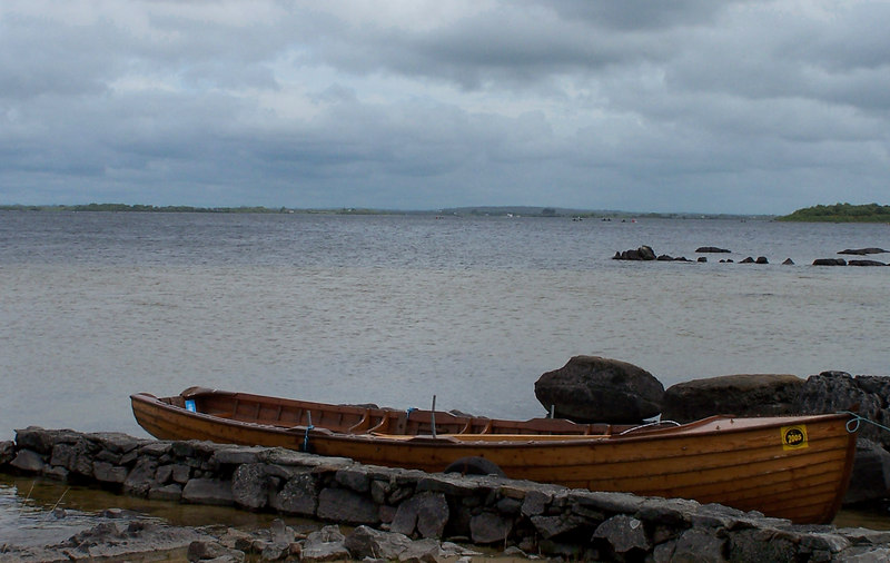 Loch Corrib near Oughterard Ireland.