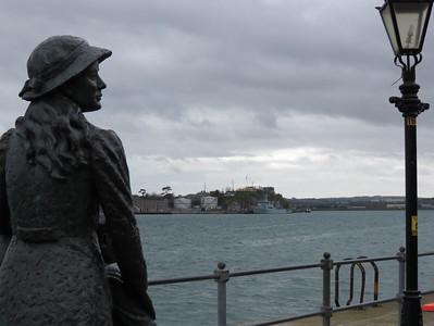 Annie Moore in Cork, Ireland