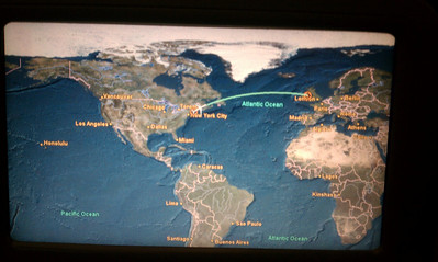 Second leg: Boston to Dublin