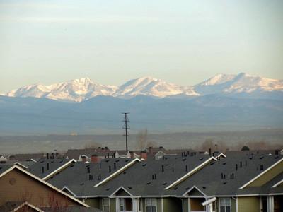 Colorado Rockies from Cambria Suites