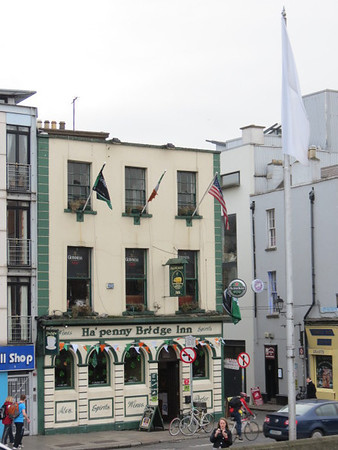 Ha'penny Bridge Inn.  We didn't make it there - have to go next time.