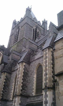 The back of Christ Church Cathedral.