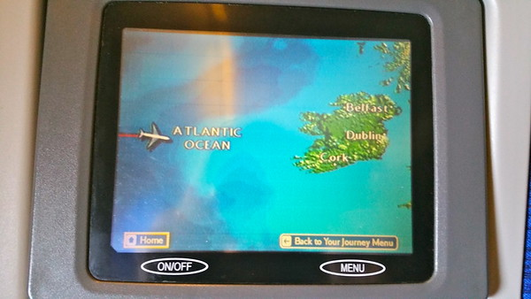 Flying over Ireland to get to London to fly back to Shannon