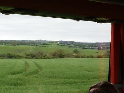 On the bus from Newgrange to the Hill of Tara
