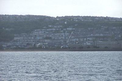 Approaching Swansea, Wales
