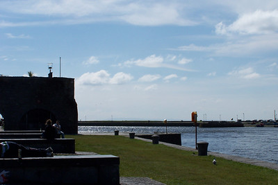 Galway - Spanish Arch and Galway Bay