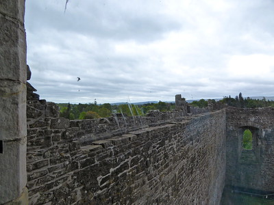 The Parapet where Claire saw Dougal