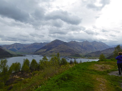 Three Sisters of Kintail - the 3 peaks on the right