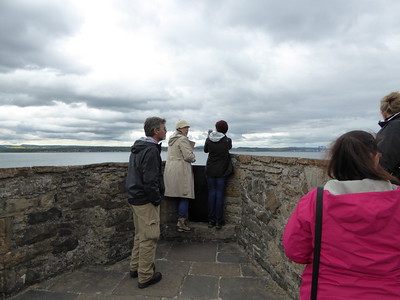"""Blackness Castle is often called """"the ship that never sailed"""" because it's shaped like a ship and this would be the prow at the front."""