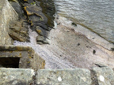Looking down.  Good thing Jamie and Claire didn't jump here!