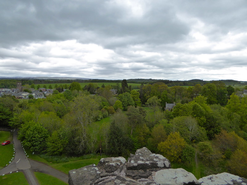 View fromCastle Leoch