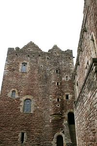 Doune Castle Inner Wall
