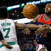 APTOPIX Wizards Celtics Basketball