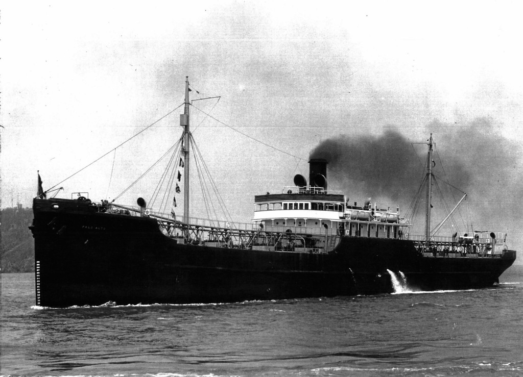 . The SS Palo Alto in 1921.