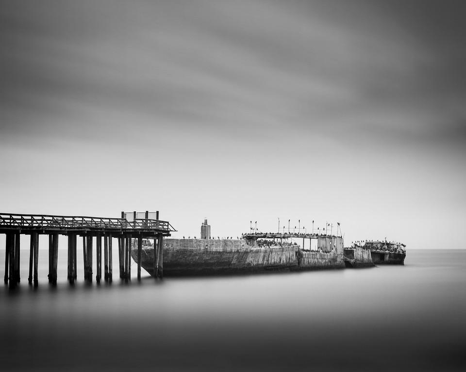 . SS Palo Alto (Cement Ship) -- Aptos, CA, 2015 (Anthony L. Solis -- Santa Cruz Sentinel)