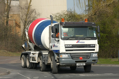 Cemex (formerly RMC) mixers