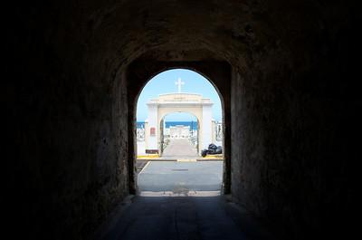 Cementerio Santa Maria Magdalena De Pazzis Entrance