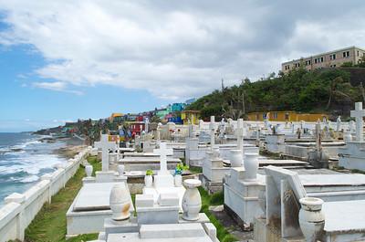 View of La Perla from Cementerio Santa Maria Magdalena De Pazzis