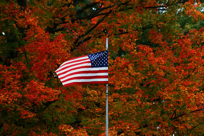 October Flag, Natick, MA