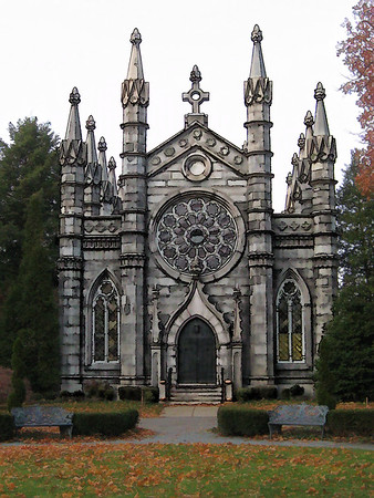 The Bigelow Chapel, Mount Auburn Cemetery, Cambridge, Ma