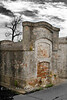 Spooky Tombs in Buras Cemetery, Louisiana