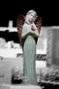 Angel With Her Dove - St  Patrick Cemetery, Louisiana